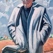 Portrait of A. Adamovich, 1986