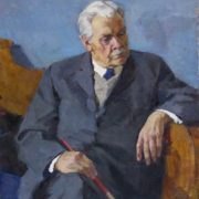 Portrait of People's artist of the USSR A.A. Shovkunenko. 1970