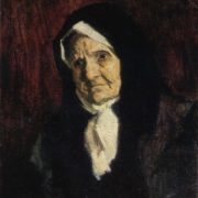 Portrait of mother. 1957