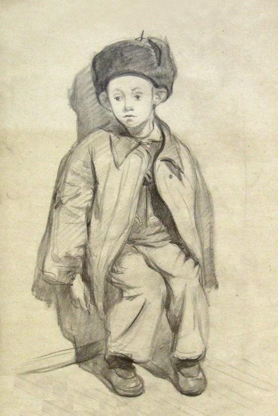 Seryozha. 1948