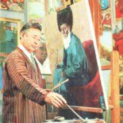 Soviet Turkmen artist Yakub Annanurov (1916-2002)