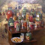 Soviet Russian painter Boris Yakovlev 1890-1972