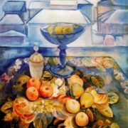 Still life. 1916. The State Tretyakov Gallery, Moscow