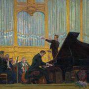 Symphony orchestra. 1960