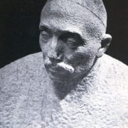 The national master of carving on ganch Usmanov. Marble, 1962