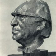 The Hero of Socialist Labor Bulgarian artist Dechko Uzunov. 1970. Bronze