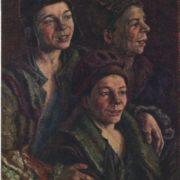 1926 portrait of homeless children. 1926. Tretyakov gallery