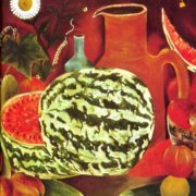 1976 Still life with water-melon. K.K. Kadirov