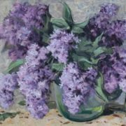 A bouquet of lilac