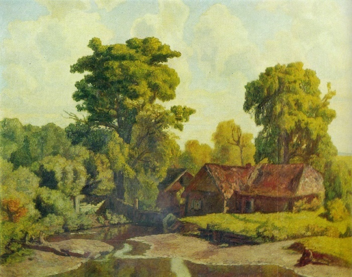 At the mill. 1927