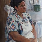 Aunt Galya, a cook. 1970