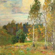 Autumn has come. Oil, canvas. 1984