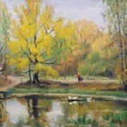 Autumn in Abramtsevo. 1932
