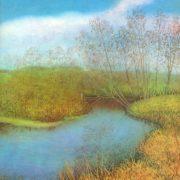 Autumn on the Toimenka river. 1975. V.D. Melnikov