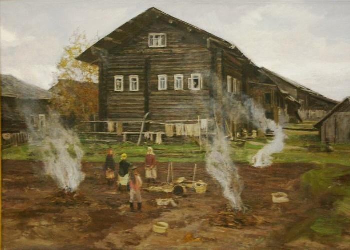 Autumn time. Andrichevo, 1985-1987
