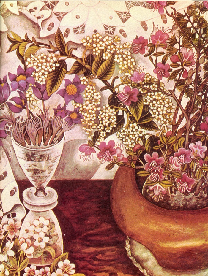 Blooming time. 1976. A.G. Tryapkina