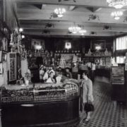 Eliseevsky shop in Leningrad 1957