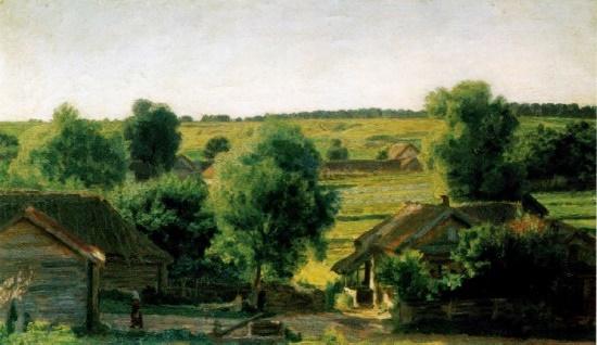 Evening in the village. 1927