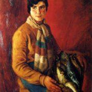 Fisherman's daughter. Sorrento. 1930