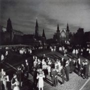 Graduates on the Red Square. Moscow 1965