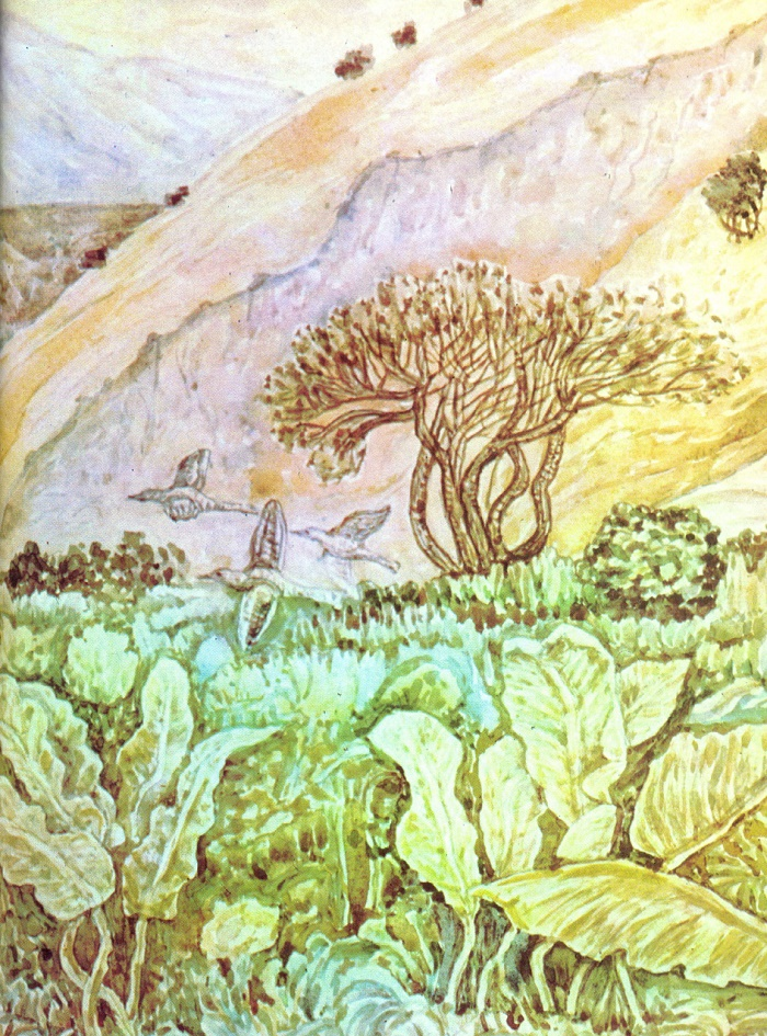 High-mountain meadow. 1975. R.A. Niyazbaev