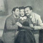 In the 1954 film The Merry Stars her partners were Yuri Timoshenko and Yefim Berezin