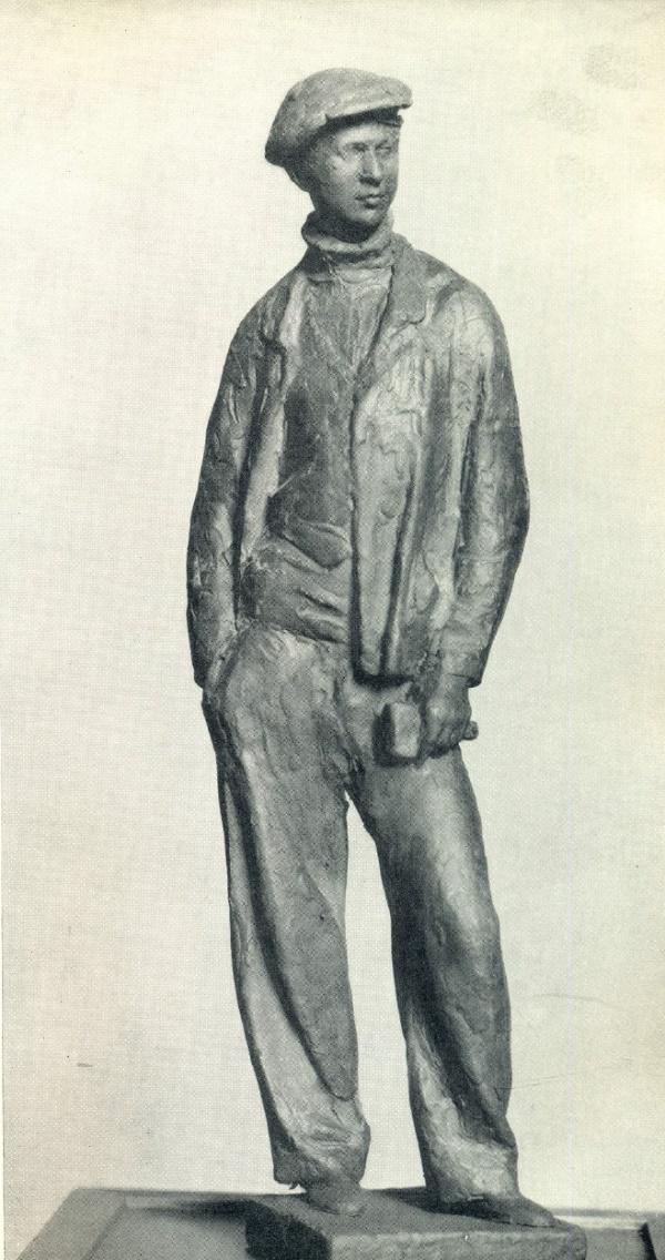 Komsomol member. Gypsum. 1932