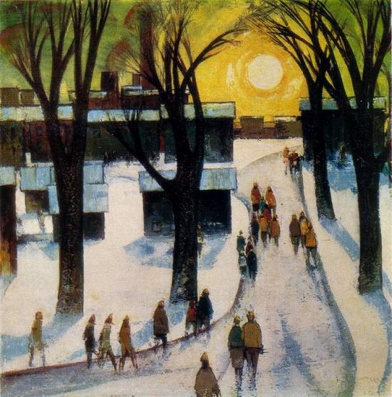 Soviet Latvian artist Laimdot Murniek