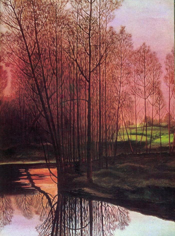 Landscape. 1976. L.V. Trokhaleva