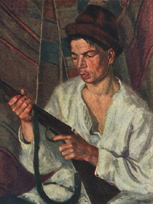 Mari El man hunter. 1925