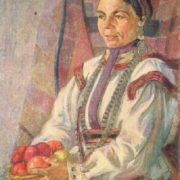 Mari El woman. Oil. 1925