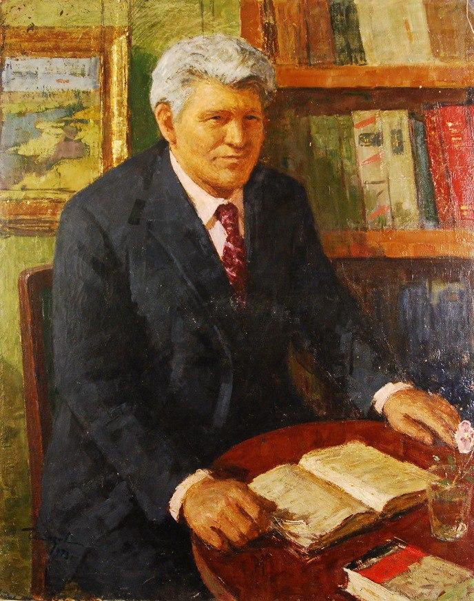 Mikhail Antonovich Alpatov, History Science Doctor. 1973