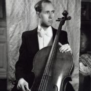Mstislav Rostropovich is at home. Moscow 1951