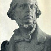 N.A. Dobrolyubov. Bronze. 1950