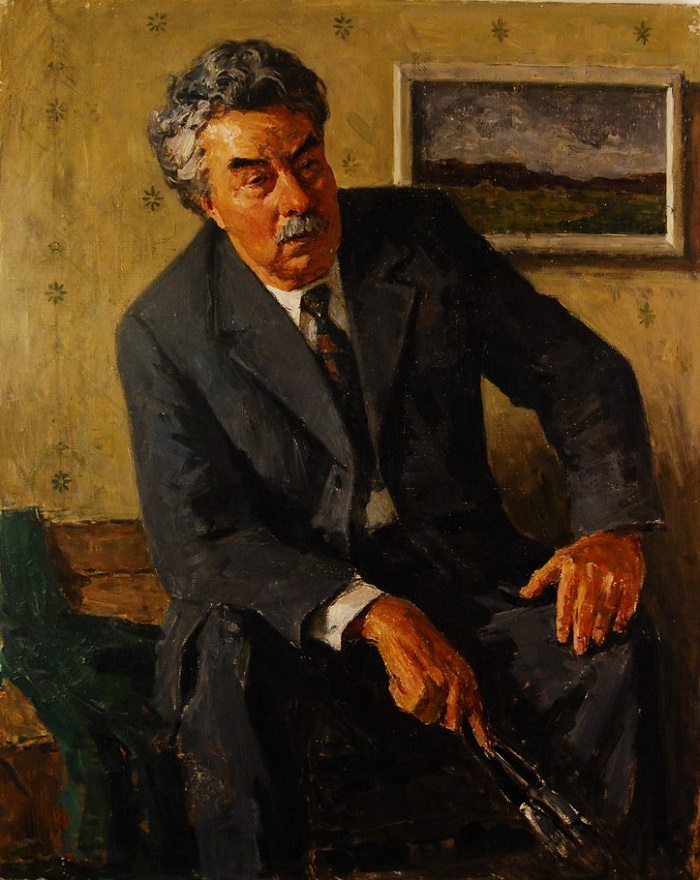 Nikolay Yefimovich Timkov, honored artist of RSFSR. 1968