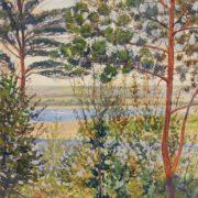 Nizhny Novgorod landscape. 1935