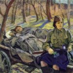 Soviet artists painting war 1941-1945