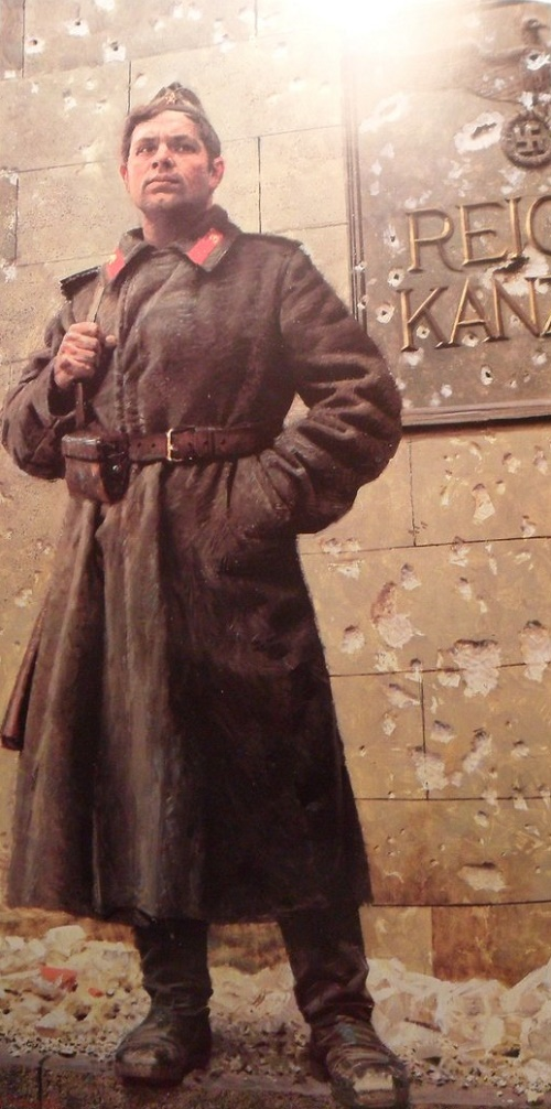 Soviet realist painter Akhmed Kitayev 1925-1996