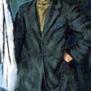 Portrait of A.V. Kuprin. 1922
