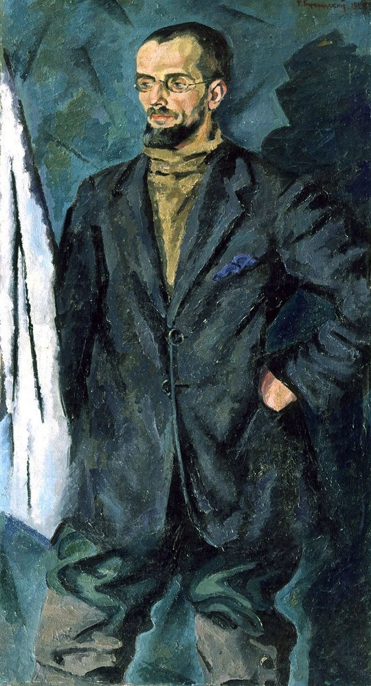 Portrait of A.V. Kuprin. 1922