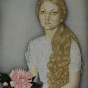 Portrait of Elena Kalinina. 1975