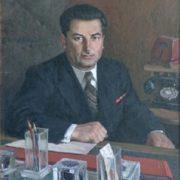 Portrait of Sarkisov. 1948