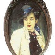 Portrait of wife Tamara. 1947