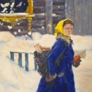 Postwoman. 1954