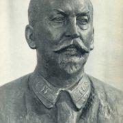 Professor G.V. Khlopin. Bronze. 1947