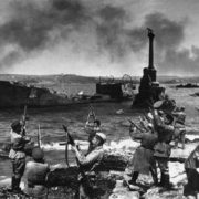 Salute in the liberated Sevastopol, May 1944