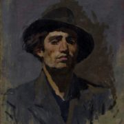 Self-portrait. 1960. Oil on canvas