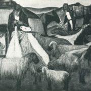 Shepherds. 1975. T. Esenmamedov