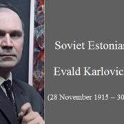 Soviet Estonian artist Evald Okas