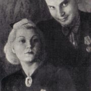 The first military award for the defense of Leningrad. Covalli and Shulzhenko